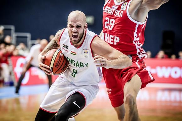 David Vojvoda je zadavao velike probleme košarkašima Hrvatske