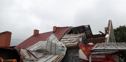 Trąba powietrzna na Pomorzu! Żywioł zrywał dachy i łamał drzewa jak zapałki