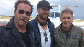 """Schwarzenegger i Ford na planie """"Niezniszczalnych 3"""""""