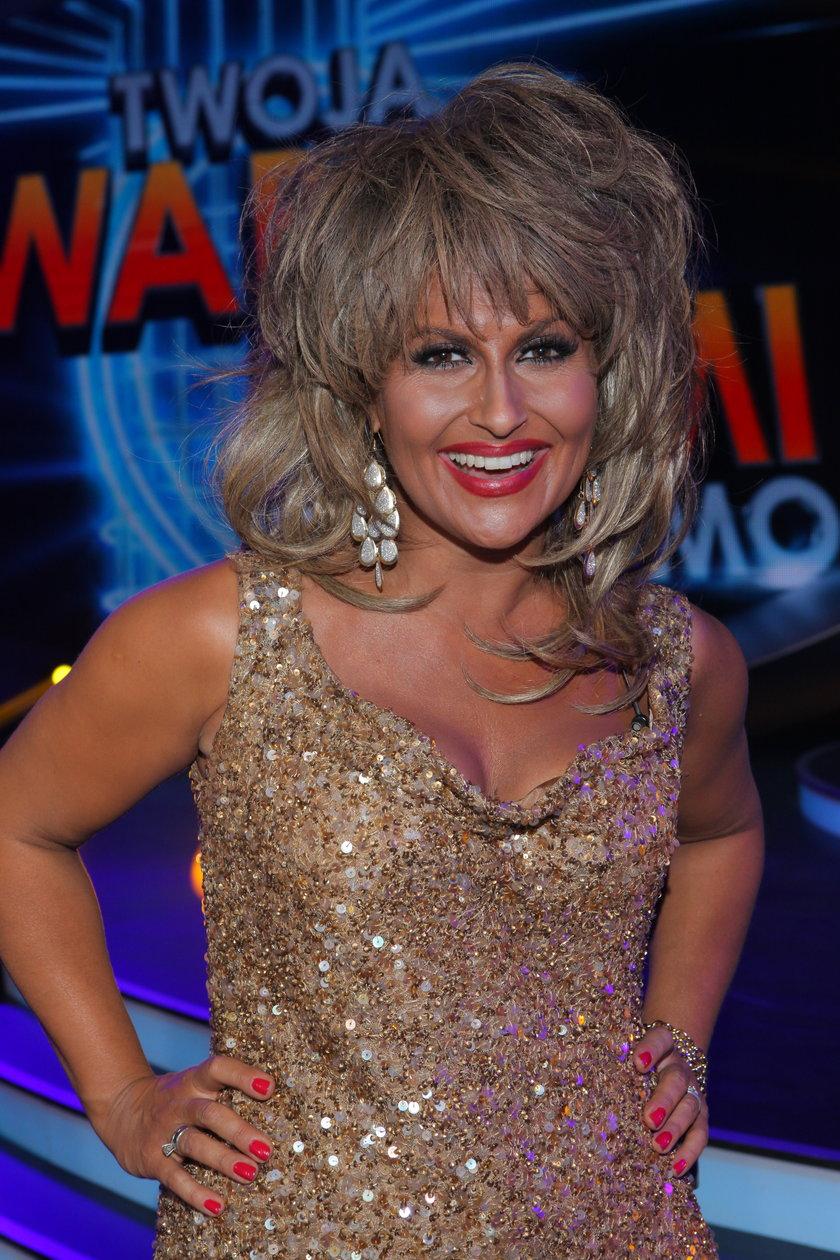 Katarzyna Skrzynecka jako Tina Turner