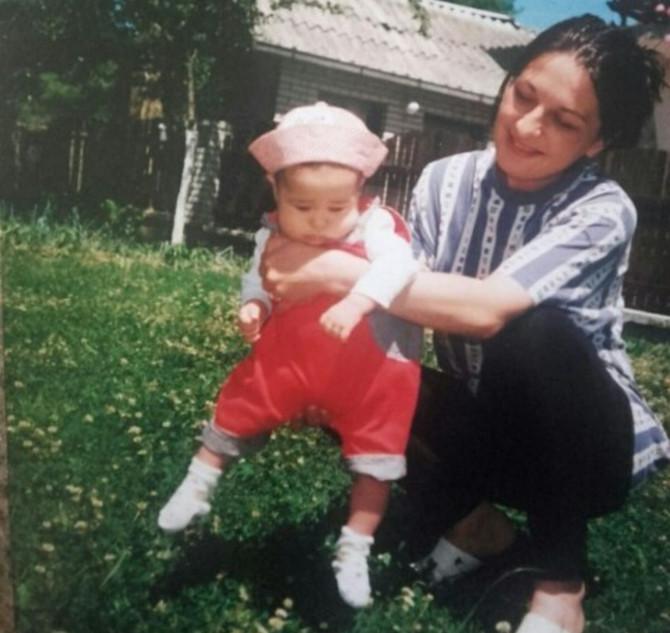 Slavica Bijelić sa ćerkom