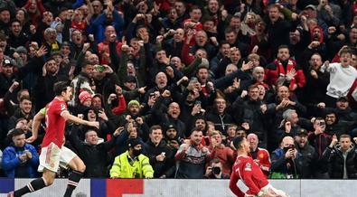 Ronaldo again rises to Man Utd's Champions League rescue