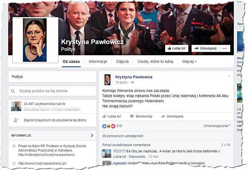 Pawłowicz obraziła wiceszefa Komisji Europejskiej?