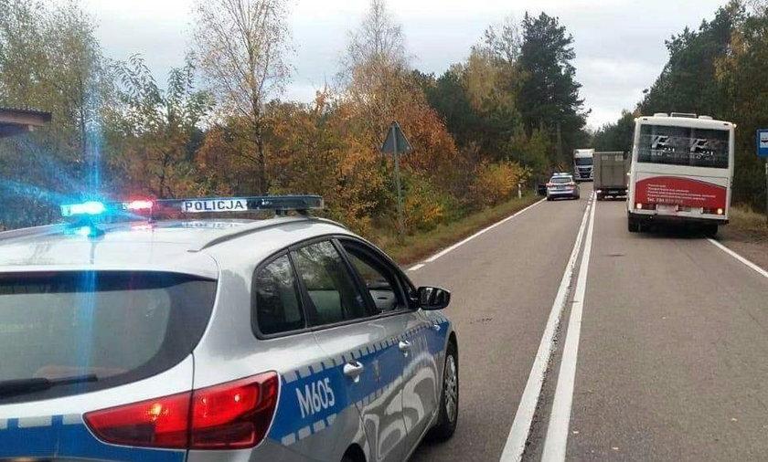 Groźny wypadek na Podlasiu. Ciężarówka potrąciła 16-latkę