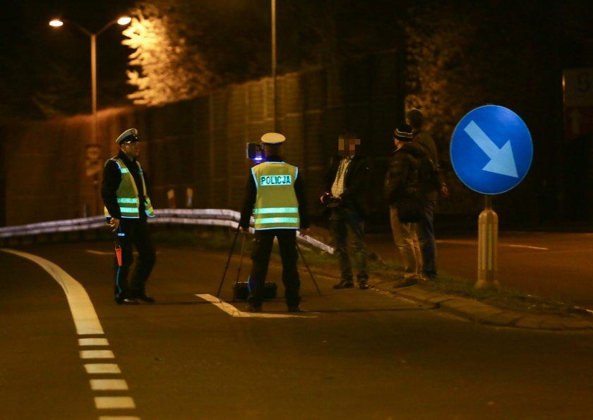 Katowice. Rekonstrukcja wypadku na skrzyżowaniu drogi DK 86 z ulicą Górniczego Stanu