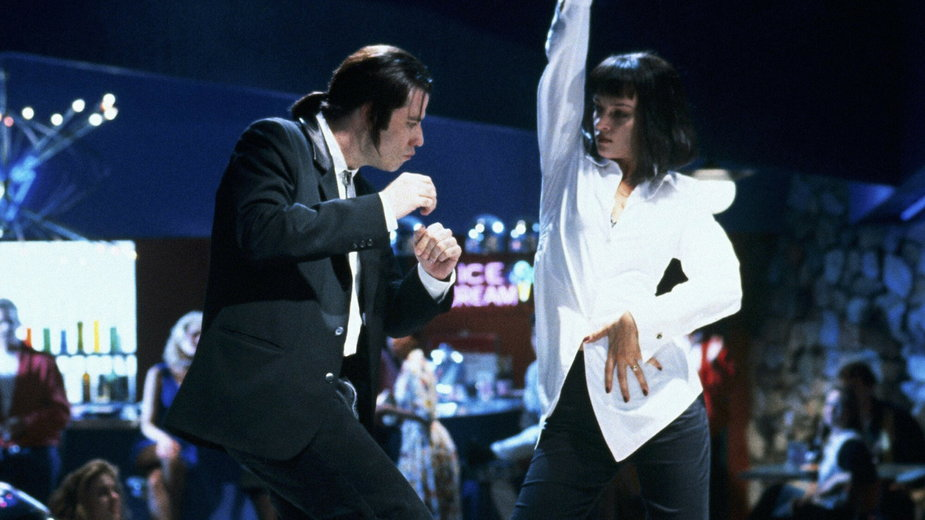 "Kadr z filmu ""PULP FICTION"""
