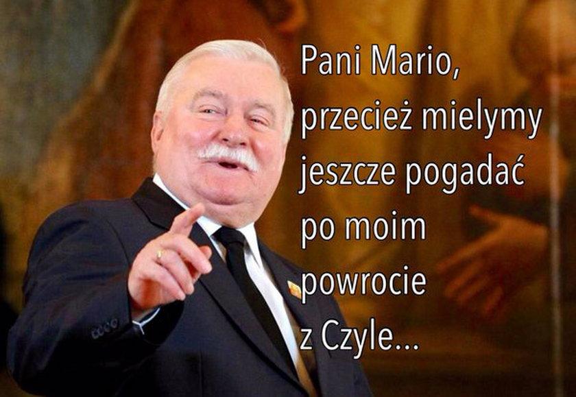 """""""Pani Mario, przecież mielymy jeszcze pogadać po moim powrocie z Czyle"""""""