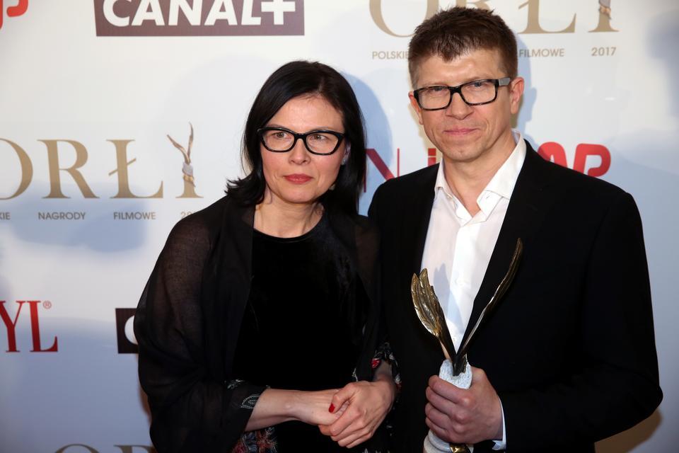 """Orły 2017 - najlepszy dźwięk: Katarzyna Dzida-Hamela, Jacek Hamela, """"Wołyń"""""""