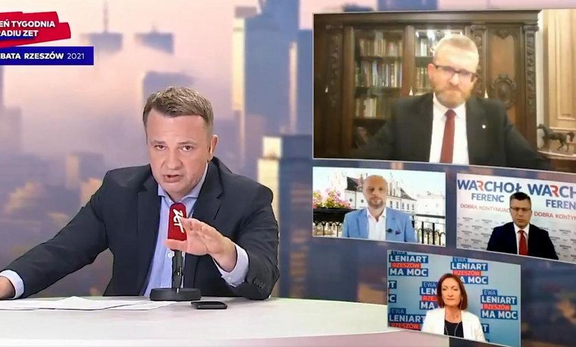 Grzegorz Braun został wykluczony z debaty w Radiu Zet.