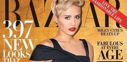Grzeczna Miley na okładce. Nie pokazuje języka