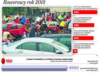 Rowerzyści nie znają przepisów ruchu drogowego