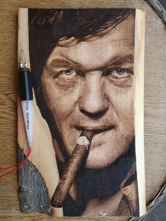 Đurićev portret Emira Kusturice