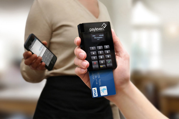 Czytnik do mobilnych płatności kartą Payleven