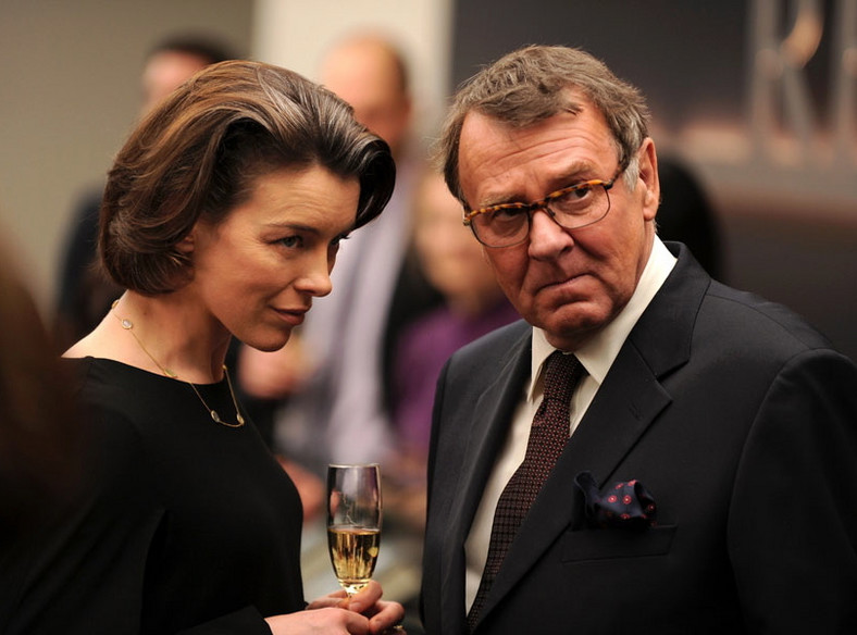 "Olivia Williams i Tom Wilkinson w ""Autor widmo"""