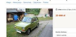 Zabytkowe auta na Allegro! Warte fortunę!
