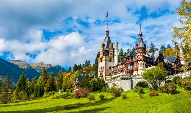 Zamek Peles, Transylwania