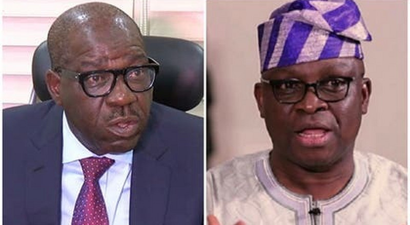 Fayose to Obaseki: 'I'm not your fan but don't leave PDP after victory'