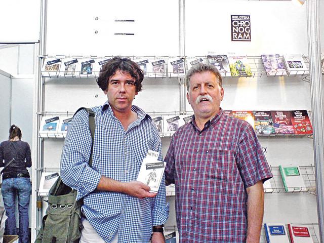 Na promociji svog prvog romana sa Pecom Popovićem