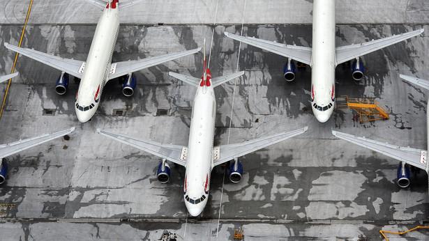 Samoloty British Airways fot: Simon Dawson/Bloomberg