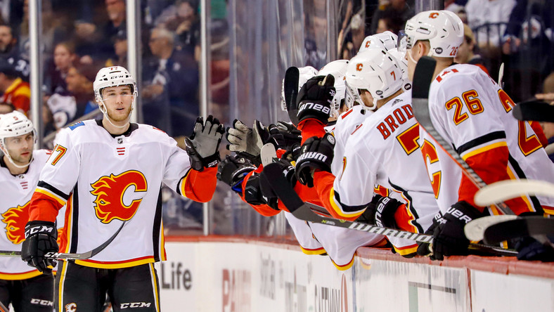 NHL: Calgary Flames w play-off - wyniki