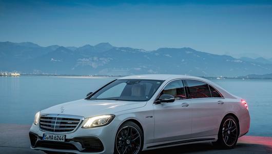 Mercedes klasy S AMG z nowym sercem