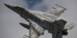 F-16 w tygrysim malowaniu przyleciał na Krzesiny