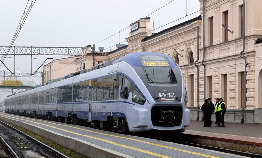 Pociąg Pesa Dart będzie jeździć na trasie Białystok-Warszawa
