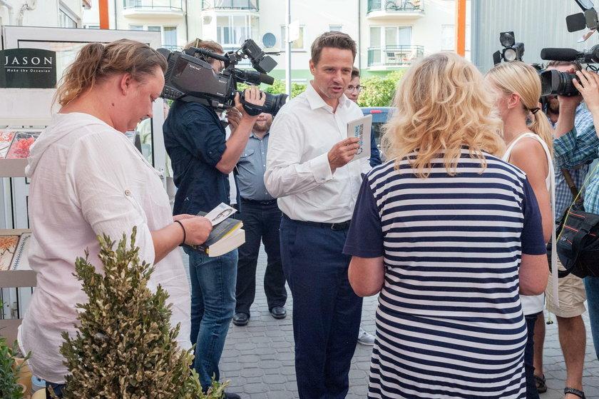 Wywiad z Rafałem Trzaskowskim kandydatem na prezydenta Warszawy