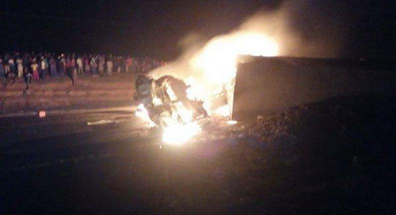 2 dead after tanker explosion