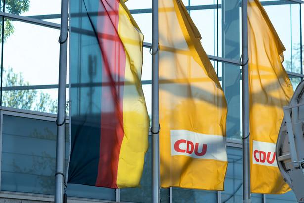 CDU. Niemcy. Partia polityczna. Polityka