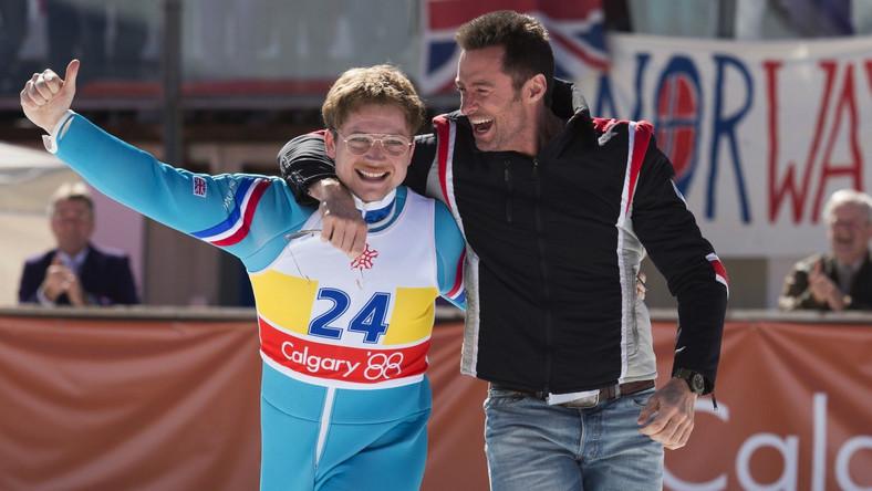"""""""Eddie the Eagle"""": Hugh Jackman trenuje brytyjskiego skoczka narciarskiego"""