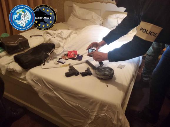 Oružje pronađeno kod Čabe