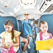 deca u autobusu