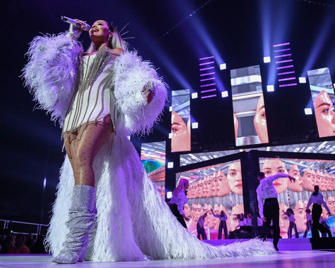 Rita Ora na nastupu