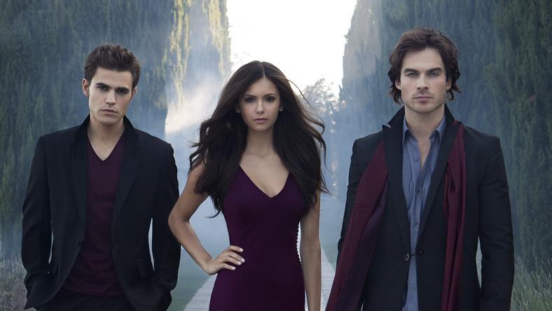 Piękna trójka: Nina Dobrev, Paul Wesley i Ian Somerhalder