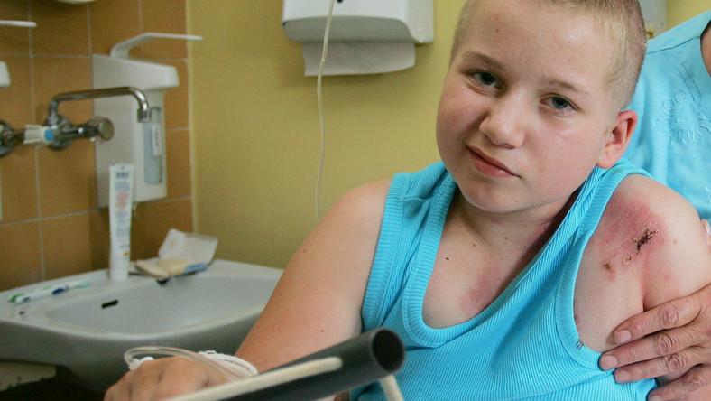 Błyskawice polują na rodzinę 11-letniej Klaudii
