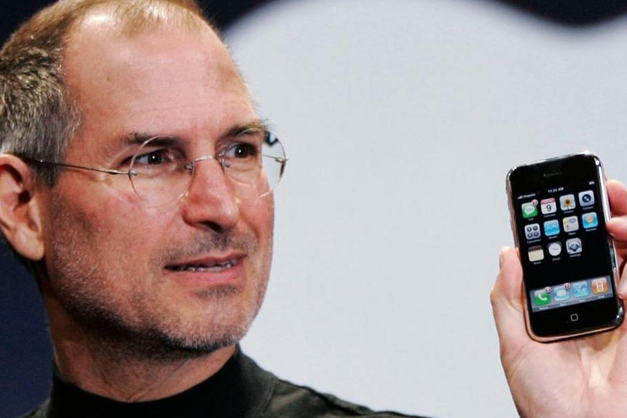 Steve Jobs i iPhone
