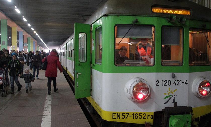 Koleje Mazowieckie chcą remontować przestarzałe pociągi.