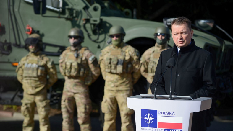 Minister obrony narodowej Mariusz Błaszczak