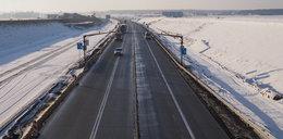 Kamery z radarem na autostradzie A1 między Łodzią i Częstochową