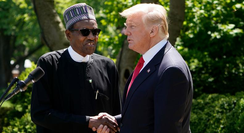 The President Donald Trump-led American government has called on Nigerian security forces under the President Muhammadu Buhari-led government to exercise restraint [Presidency]