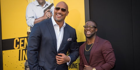 """According to PageSix, the actor is heading back to the set the upcoming """"Jumanji"""" sequel alongside co-stars Dwayne """"The Rock"""" Johnson, Danny DeVito and Danny Glover."""