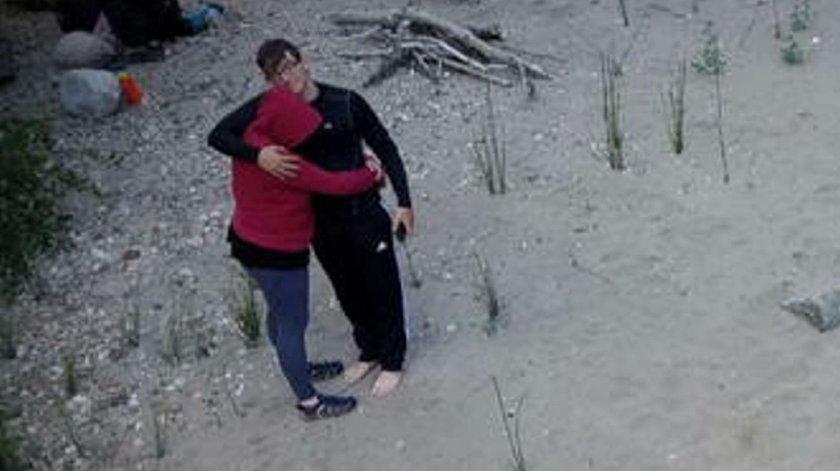 Rodzina utknęła przy wodospadzie. Uratował ich list w butelce