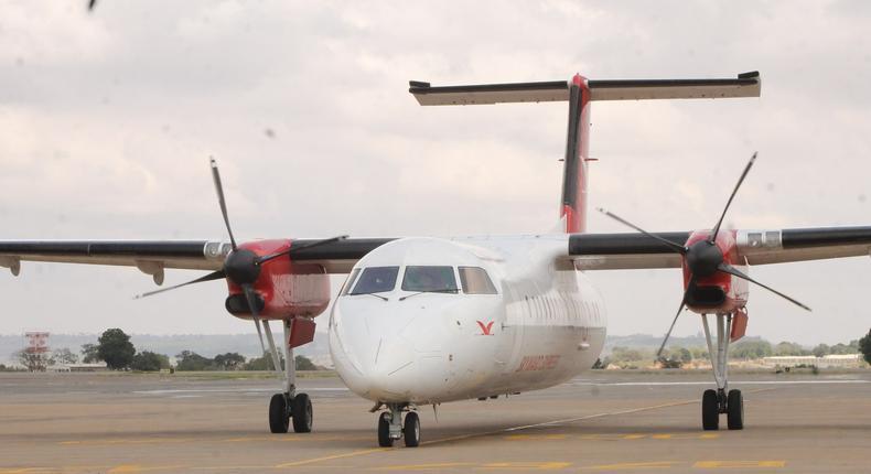 A plane seen at Wilson airport. (travelandtourismdaily)