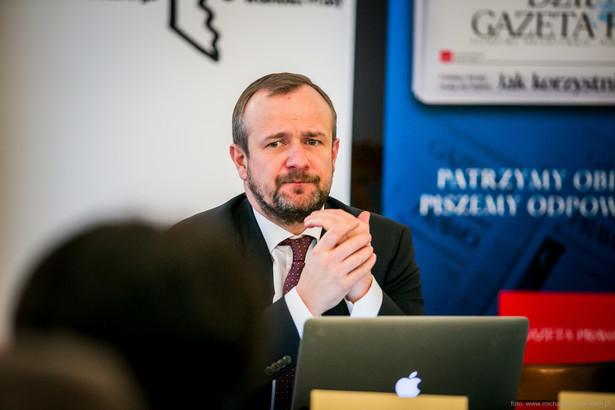 Paweł Rybiński, adwokat specjalizujący się w sprawach reprywatyzacyjnych, były dziekan warszawskiej Okręgowej Rady Adwokackiej