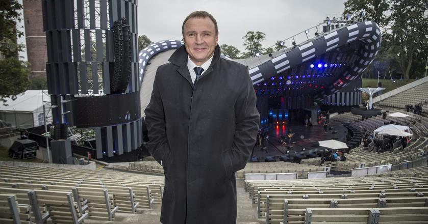 Jacek Kurski, prezes TVP, nie kryje zadowolenia z tegorocznej imprezy