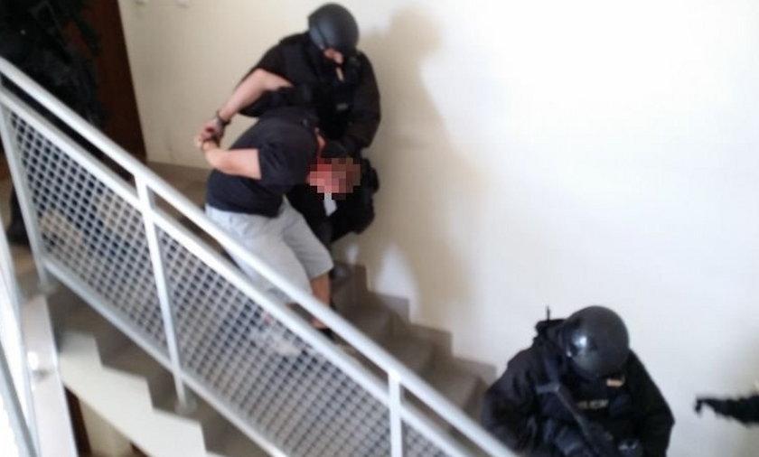 Podejrzani o czerpanie zysków z prostytucji zatrzymani w Kielcach