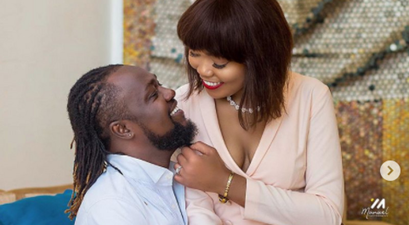 Couple goals: Eddie Nartey drops beautiful photos to celebrate 2nd marriage anniversary