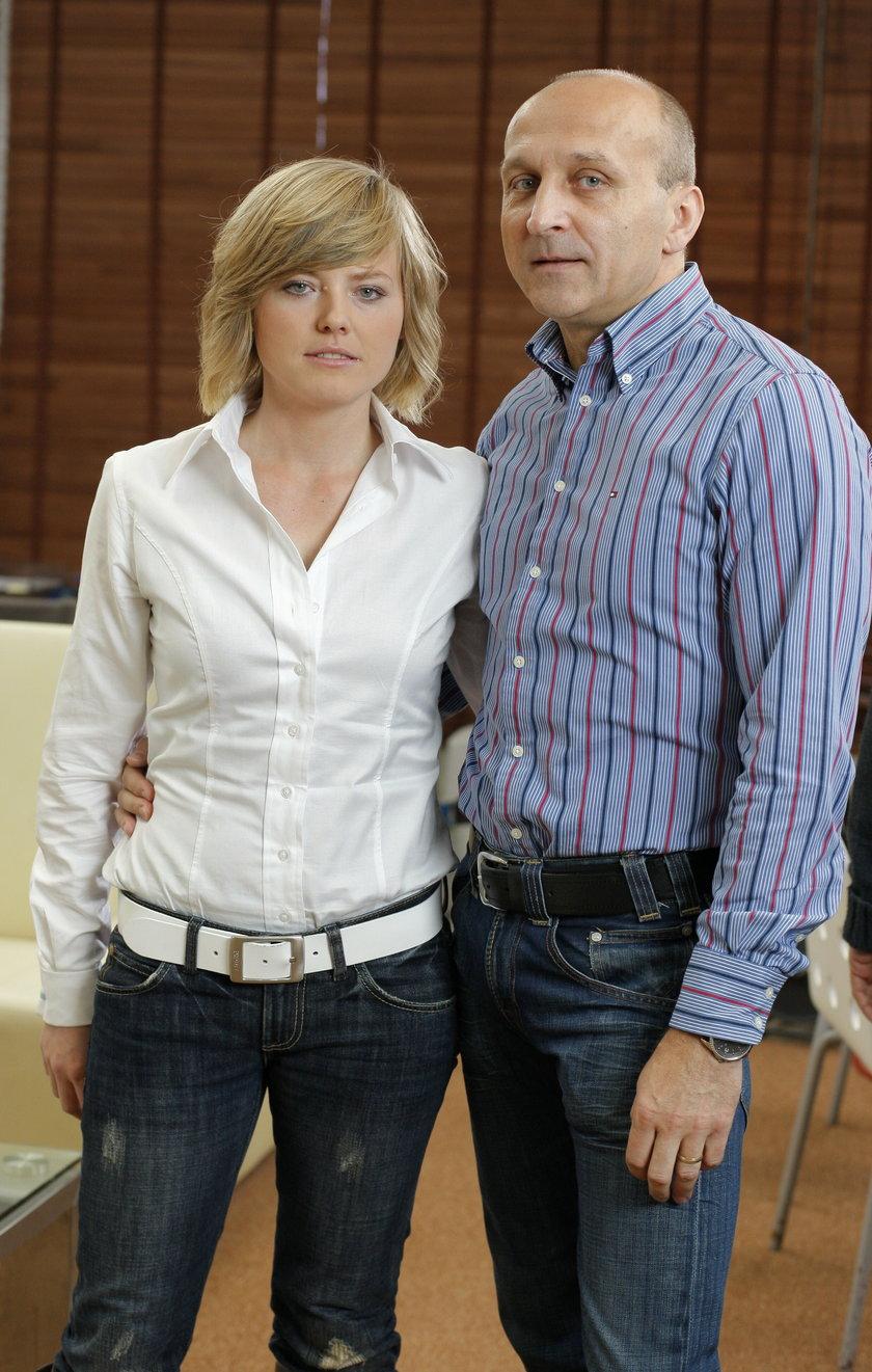Izabela i Kazimierz Marcinkiewiczowie w 2009 r.