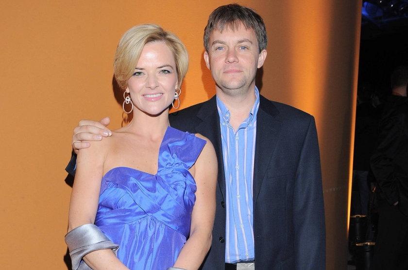 Monika Richardson z Jamie Malcolmem w maju 2009 roku